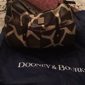 Dooney and Bourke Leather Animal 🦒 print